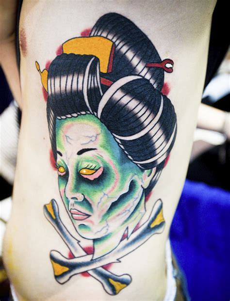 tattoo geisha head geisha head tattoo