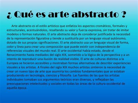 Imagenes Abstractas Que Es | el arte abstracto