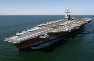 opinions on gerald r ford class aircraft carrier