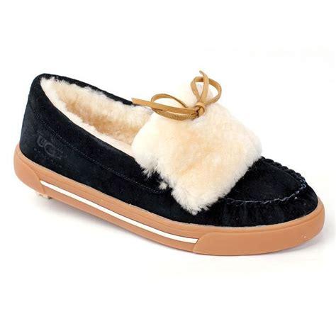 uggs flat shoes ugg ballet flats black