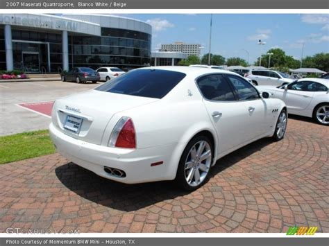 White Maserati Quattroporte 2007 Maserati Quattroporte In Bianco White Photo No 30480193 Gtcarlot