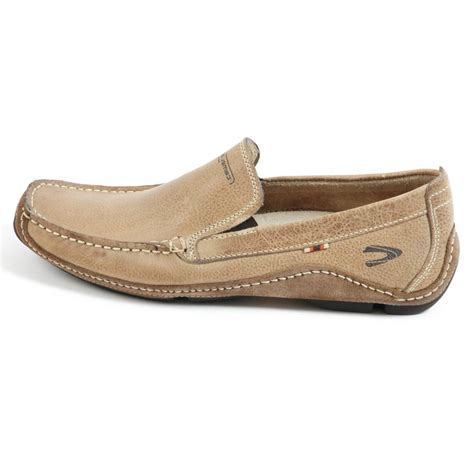slip on shoes camel active brasilia mens slip on casual loafer shoe