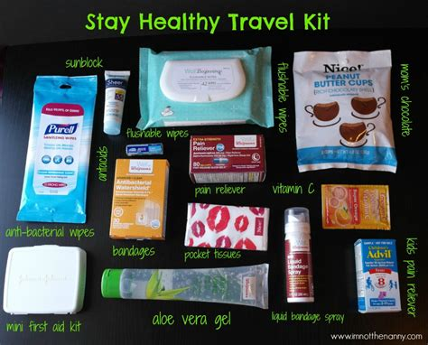 Paket Diy Liquid By Fernia Shop by Pack Smart With A Stay Healthy Travel Kit I M Not The Nanny