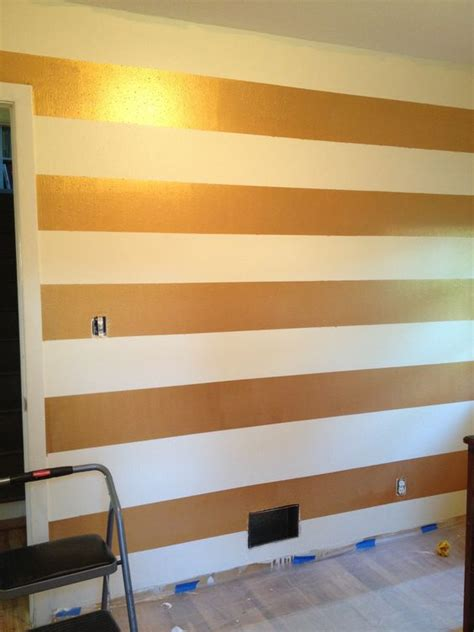 striped walls stripes stripe walls and gold on pinterest