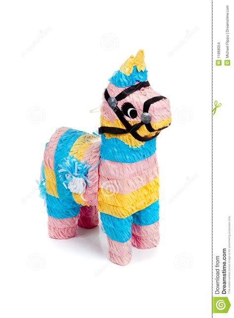 como hacer una pinata de burro pinata rosado azul y amarillo del burro en blanco