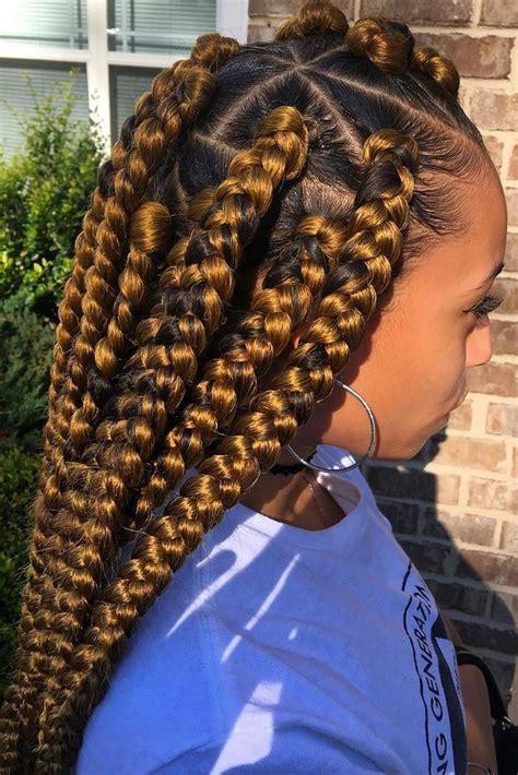 jumbo braids hairstyles for black women 25 beautiful black women show us how to slay in jumbo