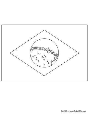 flag of brazil coloring pages hellokids com