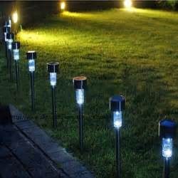 garden solar lights review aliexpress buy solar powered dip led lawn light