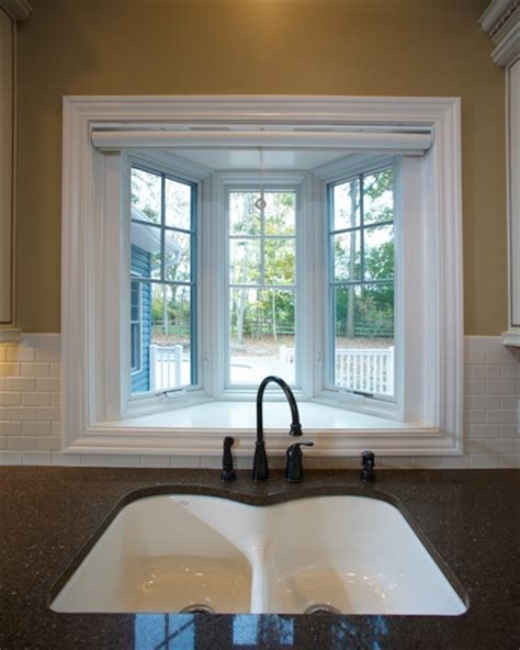 Bow Windows Curtains garden kitchen windows bay window above kitchen sink