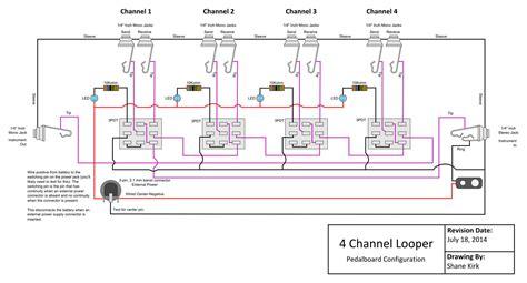 true bypass looper wiring diagram wiring diagram
