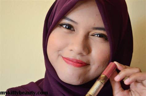 Sari Ayu review swatches sari ayu duo lip color mykittybeauty
