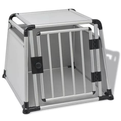 gabbie cani alluminio vidaxl gabbia per trasporto cani in alluminio l vidaxl it