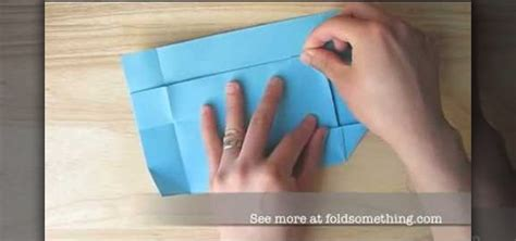 How To Make A Paper Envelope Without Glue - how to origami a paper envelope without glue or