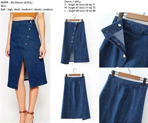 Setelan Import Murah 62463 Khaki d0399 slit denim s m l skirt 190 000 denim sold butik softaya pusat busana wanita