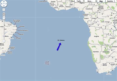 st helena on world map it s official the world s earwig is extinct