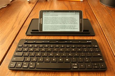 Microsoft Universal Mobile Keyboard microsoft universal mobile keyboard on solid but