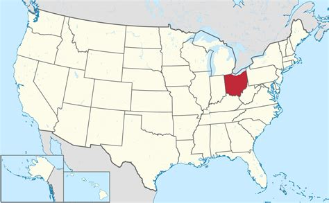 ohio in usa map file ohio in united states svg wikimedia commons