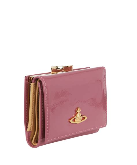 Vivienne Westwood Empire Purse by Lyst Vivienne Westwood Pink Patent Leather Ebury Clip