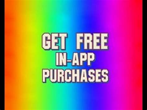 free in app purchases android no root get free in app purchase on android devices no root no pc for free 2016 check description