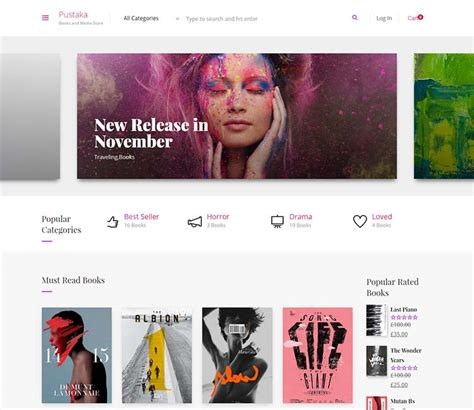 wordpress themes for bookstore 15 the best book store wordpress themes in the world 2017