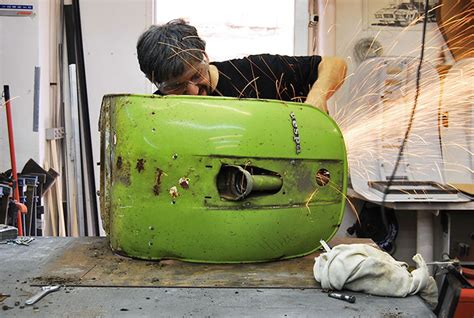 sedia vespa vecchie vespa trasformate in moderne sedie da ufficio keblog