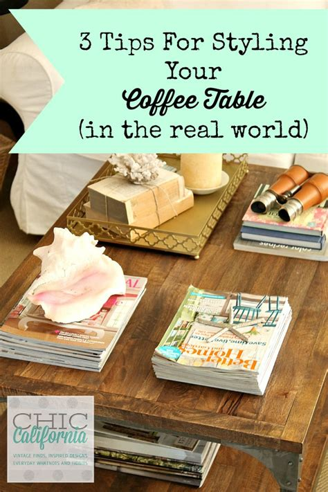 what to put on a coffee table 3 tips for styling your coffee table in the real world