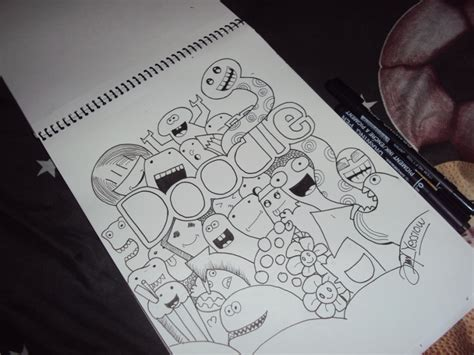 doodle tutorial mudah mudah house autos post