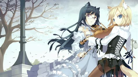 anime wallpaper violin anime girl with a violin wallpapers and images