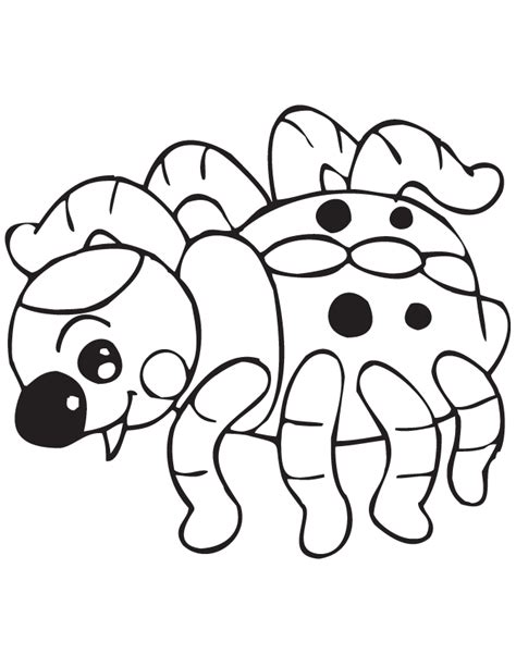 cute spider coloring pages cute spider coloring page images pictures becuo