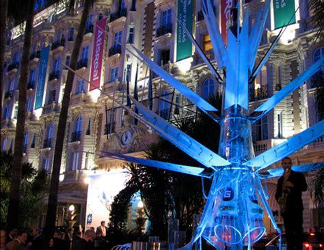 Solar Ground Lights - urban oasis giant solar powered flower lights up the night inhabitat green design