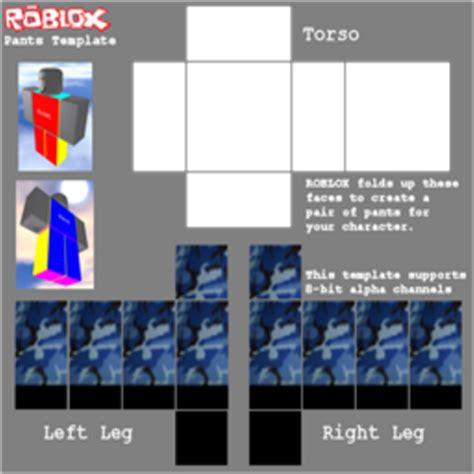 yenxox military uniform pants template roblox