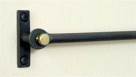 Cafe curtain rods wrought iron curtain rods