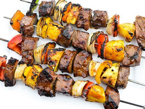 ginger teriyaki beef kebabs recipe  eats