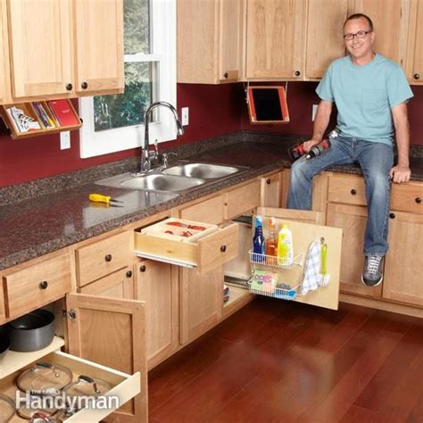 handyman kitchen cabinets 10 kitchen cabinet drawer organizers you can build