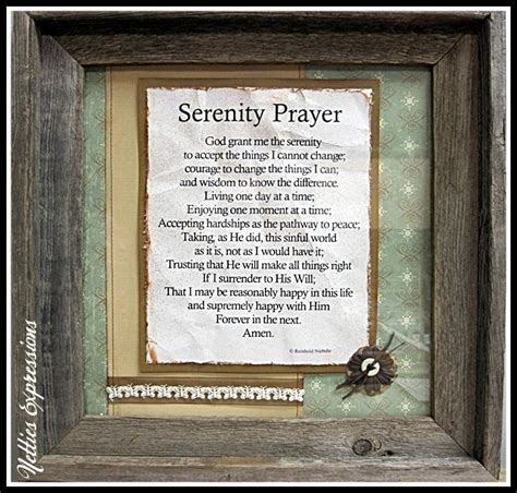 serenity prayer picture frame frame serenity prayer frames prints