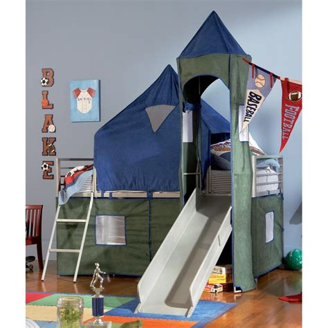 Bunk Bed Tents For Boys Boys Tent Bunk Bed With Slide Crew Ashe Pinterest