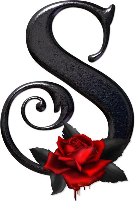 imagenes de letras goticas con rosas gifs de abecedarios y letras alfabeto g 243 tico con rosas rojas