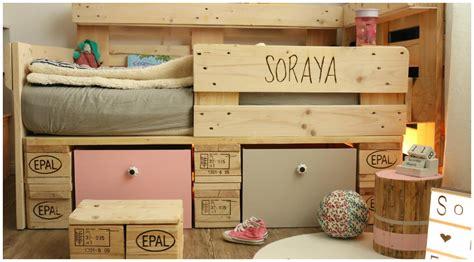 Do It Yourself Kinderzimmer by Kinderbett Aus Europaletten Palettenm 246 Bel Diy Saris