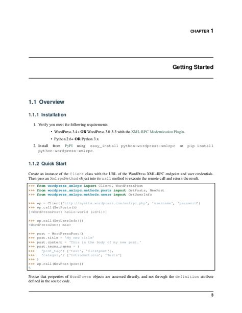 python xmlrpc tutorial python wordpress xmlrpc