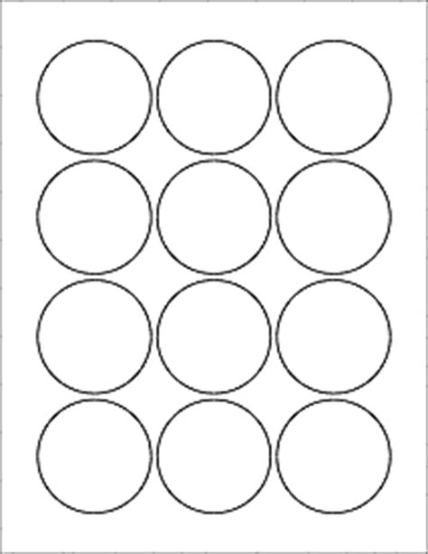 2 circle label template labels circle labels ol8750 2 25 quot circle