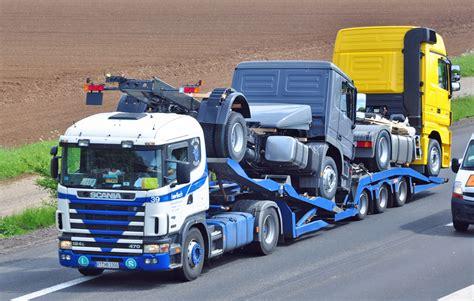 Lkw Fahrgestell Lackieren by Scania Abschlepp Und Autotransporter Fotos