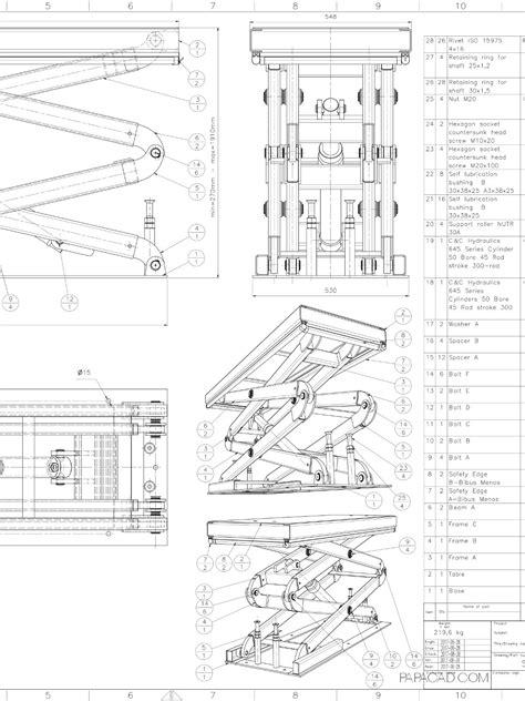 wood scissor lift table plans diy scissor lift table plans diy do it your self