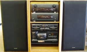 pioneer rack stereo system vintage electronics