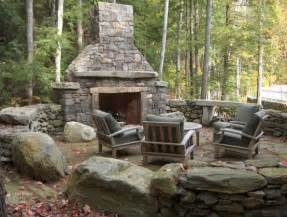 rustic fire pit