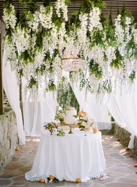 Garden Decoration Hanging by 25 Best Ideas About Hanging Flowers Wedding On