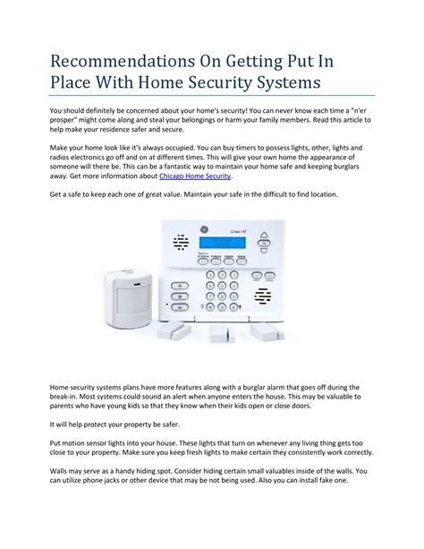 chicago home security by alva issuu