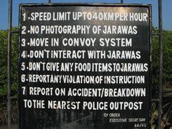 Protector Jawara imprisoning the jarawa tribe invisible order