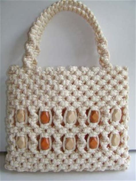 Macrame Bags Tutorials - how to macrame a purse 171 this year s dozen