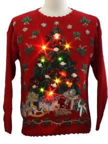 light up tree sweater light up sweater biomuscle xr
