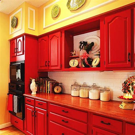 red kitchen paint colors 25 modern ideas to make kitchen design dynamic and unique